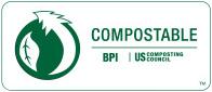 Compostable BPI certificate